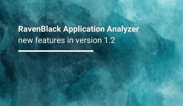 RavenBlack Application Analyzer